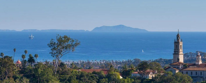 Santa Barbara ocean view property